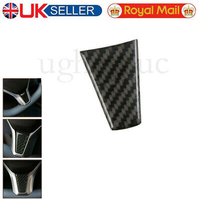 Real Carbon Fiber Car Steering Wheel Cover Car Accessories For Tesla Model S X