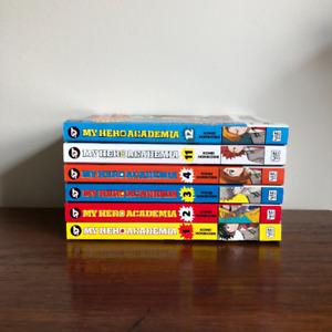 My Hero Academia Manga (Six Volumes)