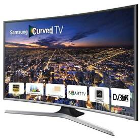 "Samsung curved 40"" smart tv"