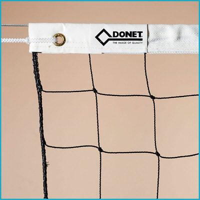 Volleyball Volleyballnetz Freizeitnetz Netz, 9,5 x 1,0 m, PE 2 mm ø, Schwarz