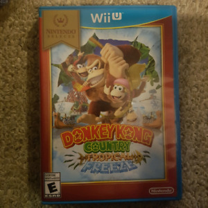 Donkeykong country wii u