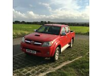 Toyota Hilux 4x4 low mileage NO FAULTS tow bar