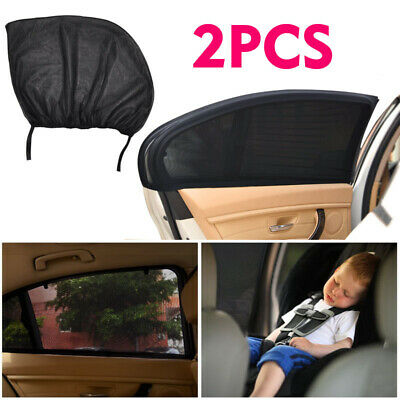 Sun Shade Sox Universal Fit Baby Rear Car Side Window Curtain Sunshade Pack of 2