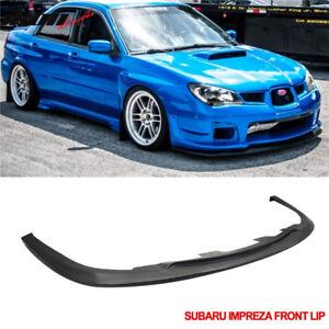 Fit For 06 07 Subaru Impreza WRX Sti S204 Front Bumper Lip Spoiler Body Kit