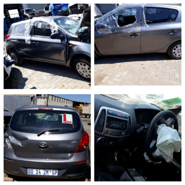 Stripping Hyundai Make Car Spare Parts