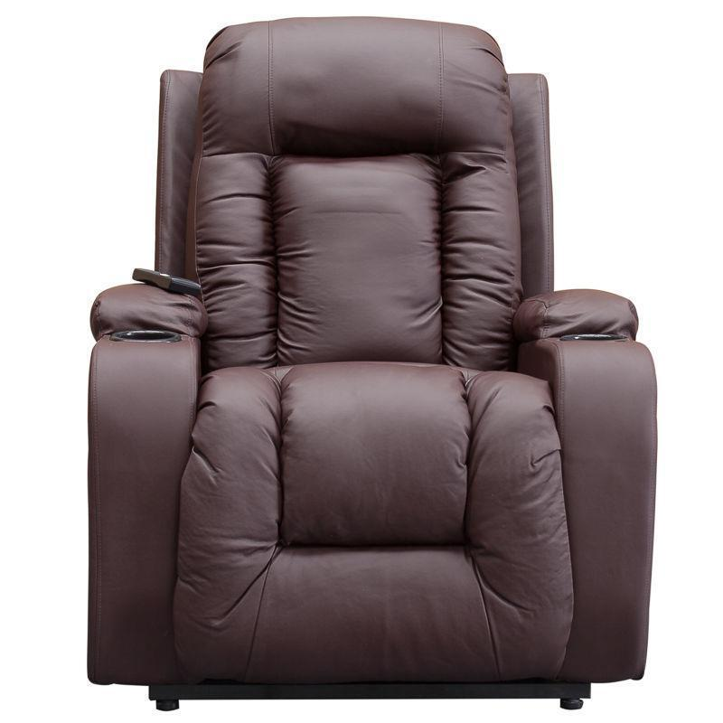 Charming Leather Electric Recliner Chairs