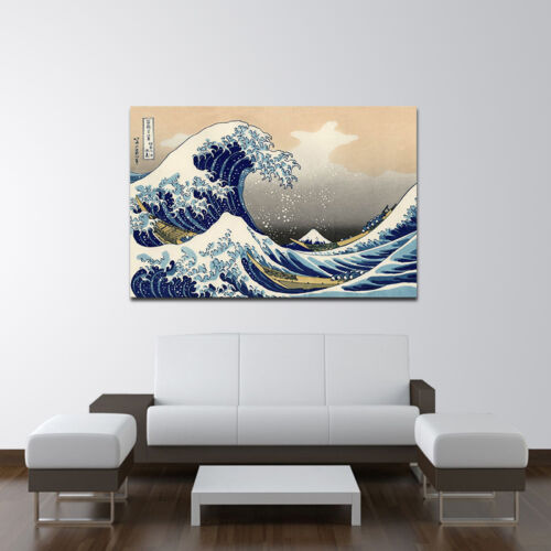 Details About Canvas Print Painting Picture Japan Anime Wall Art Home Decor  Sea Great Wave