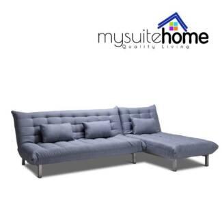 york modular chaise fabric futon click clack sofa bed click clack sofa bed   sofas   gumtree australia free local      rh   gumtree   au