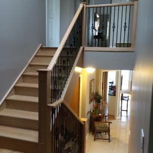 Custom Stair Railings And Posts