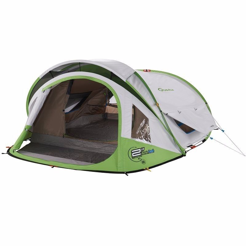 Decathlon 3 man pop up tent with internal lighting  sc 1 st  Gumtree & Decathlon 3 man pop up tent with internal lighting | in Chandlers ...