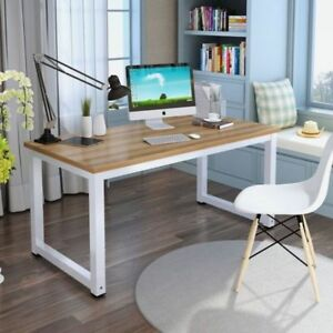 Computer Desk PC Laptop Table Wood Workstation Study Home Office Furniture0