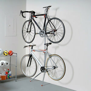 Bike Garage Storage Rack Stand 2 Bicycle Wall Gravity Indoor Home Holder  Hanger