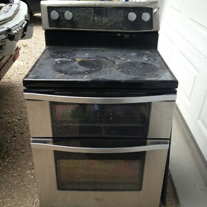 whirlpool gold series stove parts only