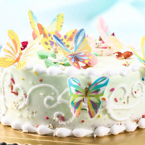 20pcs Edible Cake Topper Butterflies   Parties, Birthdays, Wedding  Decoration
