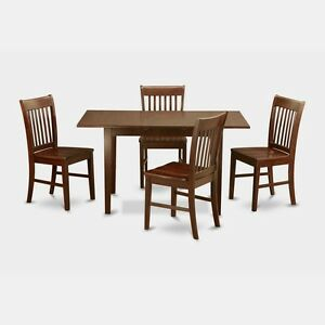 Image Is Loading 5 Piece Small Kitchen Table Set Table With