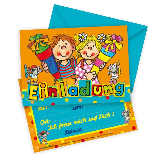 Lutz Mauder 25832 Einladungskarte Schulanfang   Ebay, Einladungsentwurf
