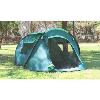 Dark Green 2 Man Popup Tent with Guy Ropes u0026 Pegs  sc 1 st  Gumtree & 30 second tent in Fairfield Area NSW | Camping u0026 Hiking | Gumtree ...