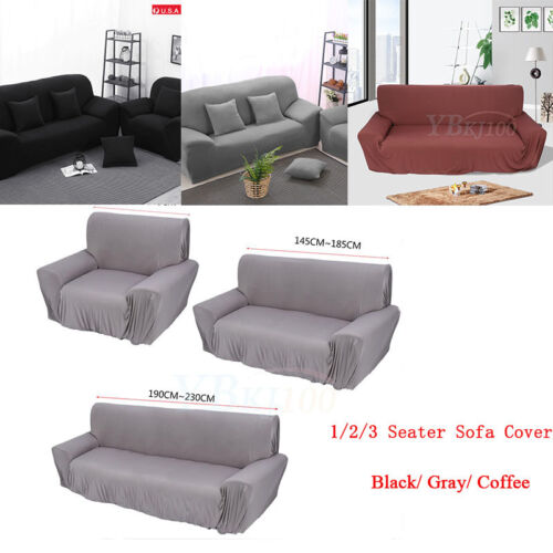 Stretch Chair Cover Sofa Covers 1 2 3 Seater Protector Couch Cover Slipcover  US