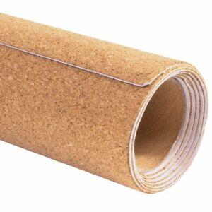1 metre cut to size cork roll self adhesive message boardsheet art u0026 craft
