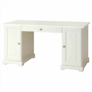 White HEMNES Ikea Desk