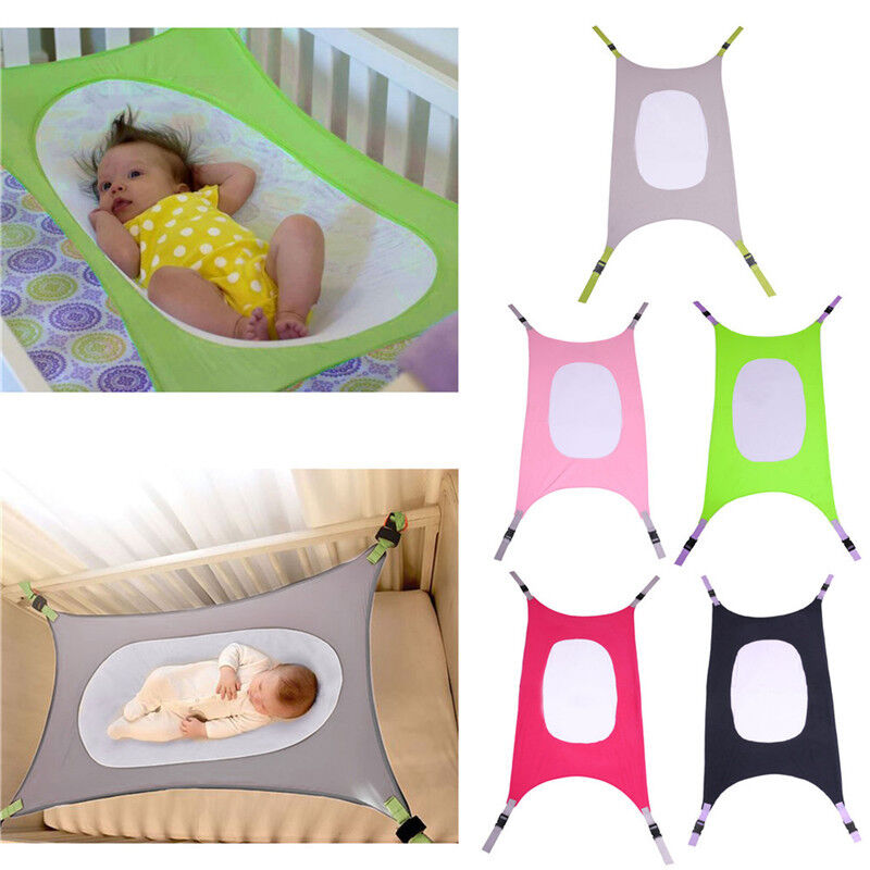 1x baby crib hammock kids baby hammock health development for safe  fort detachable      rh   ebay