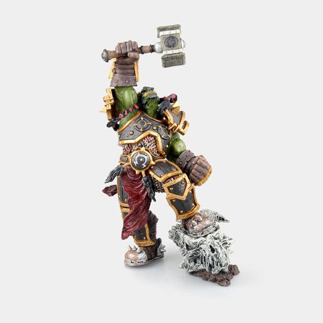 WOW <b>World of</b> Warcraft Garrosh Hellscream 19cm PVC <b>Action</b> Figure <b>3D</b> ...