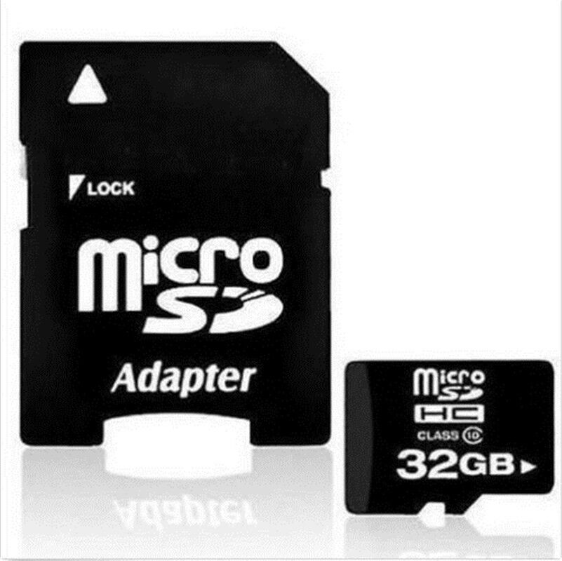 NEW 32GB Micro SD Card TF Flash Memory MicroSD MicroSDHC Class 10 Free Adapter