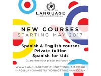 English Lessons Starting in May! - Evening classes, General English, Exam preparation