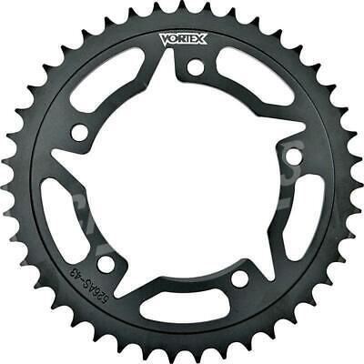 Vortex 520 Rear Sprocket Steel 47 Teeth Black 526AS-47