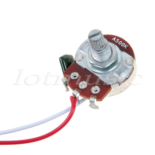 electric guitar wiring harness kit 3 way toggle switch 1 volume 1 description