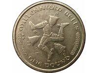 Rare Collectible £1 Coin - Millennium Bells (2001)