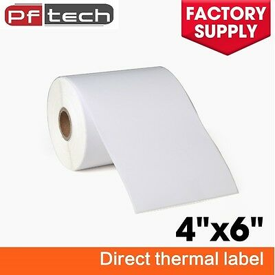 4 Roll 4x6 Direct Thermal Labels 250roll For Zebra 2844 Eltron Zp450 Free Ship