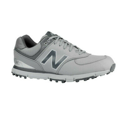NEW Mens New Balance 574 SL Waterproof Golf Shoes Grey/Silver-Pick Size & Width
