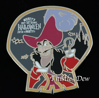 Disney HALLOWEEN Captain Hook MYSTERY PIN Villains 2018 Mickey Party Exclusive