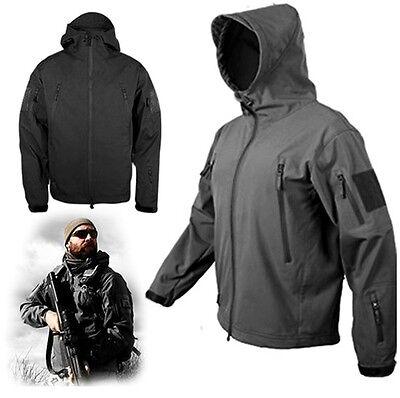 Männer Helikon-tex Gunfighter Kampf Soft Shell Shark Skin Jacket Coats  Foliage d0852b9c52