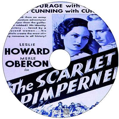The Scarlet Pimpernel - Adventure Drama  - Leslie Howard, Merle Oberon -1934