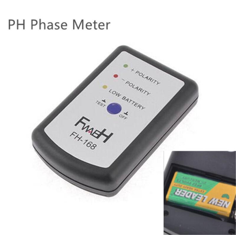 Mini Portable Vehicles Audio Speaker Polarity Tester PH Phase Meter Phasemeter