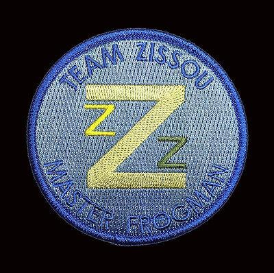 The Life Aquatic Team Zissou Life Aquatic Team Master Frogman Costume Patch  - The Life Aquatic Costume