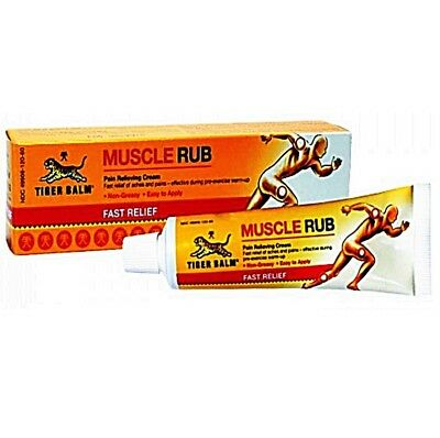 30g BEST Tiger Balm Muscle Rub Cream Exercise Sport Relief Pains Free Ship