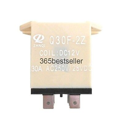 JQX-30F 2Z Plug In Type DC 12V 30A DPDT General Power Relay 8 Pin Plug-in Relay 8 Pin