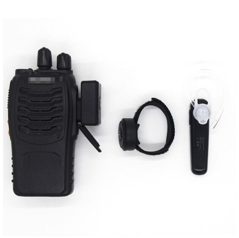 Walkie Talkie PTT Headphone Wireless Bluetooth Headset for Baofeng UV-5R