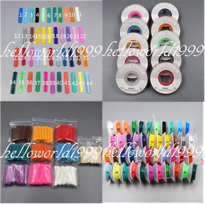 Elastic Ligature Tie 1040 Ultra Power Chain Short Orthodontic Dental 44 Colors