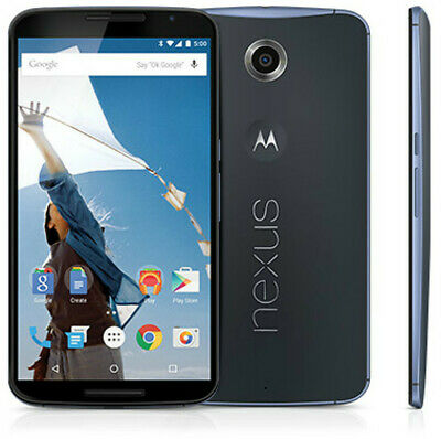 Motorola Nexus 6 XT1103 64GB/32GB GSM Unlocked Quad-core Android Smartphone 13MP