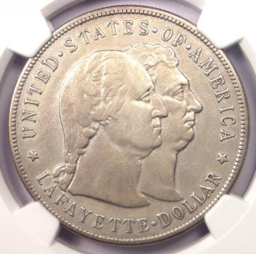 1900 Lafayette Silver Dollar $1 - NGC VF Details - Rare Certified Coin!