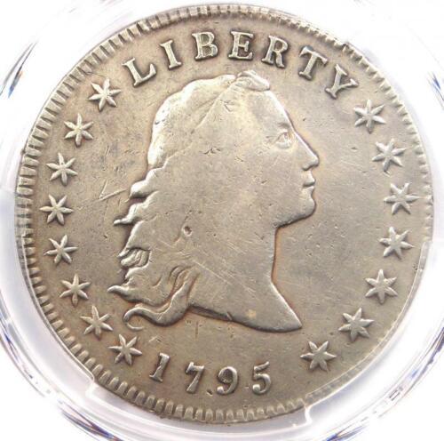 1795 Flowing Hair Silver Dollar ($1 Coin) - PCGS Fine Details - Rare Coin!