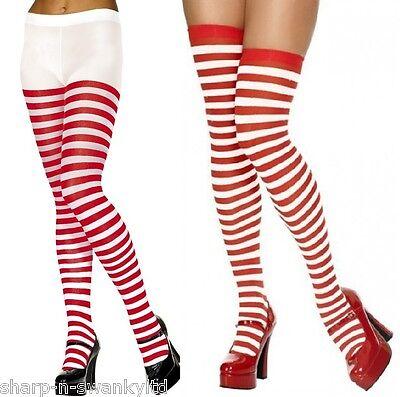 Damen Rot und Weiß Gestreift Wheres Wally Weihnachten - Wheres Wally Verkleiden