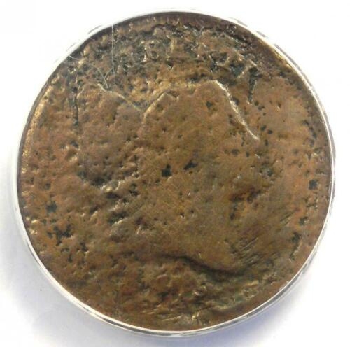 1795 Liberty Cap Flowing Hair Half Cent 1/2C - ANACS VG8 Detail - Rare Coin!