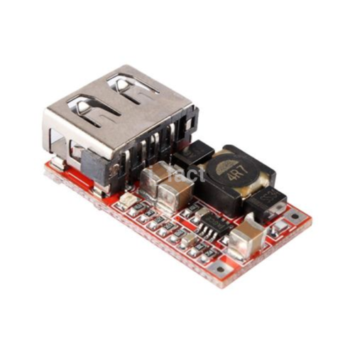 DC-DC Buck Module 6-24V 12V/24V to 5V 3A USB Step Down Phone Charger US