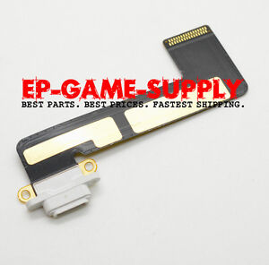 Charging Connector Dock Port Flex Cable for iPad Mini A1455 A1454 A1432 White