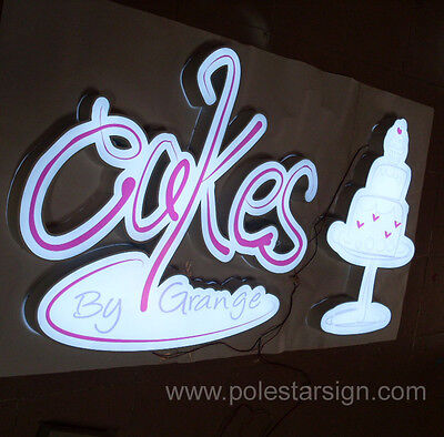 3d Lighting Advertising Logotype Led Shop Sign Letter Channel Letters Customized